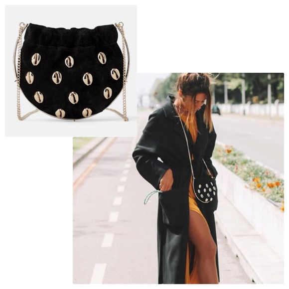 Zara Handbags - NWT Zara Leather Mini Crossbody